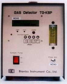 Formaldehyde Gas Monitor detects as low as 0.01 ppm.