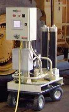 Filtration System offers automated flushing and filling.