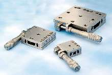 Linear Stages have stainless steel construction.