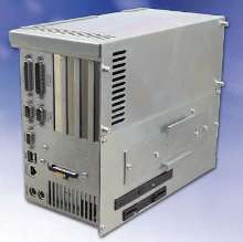 Industrial PC suits separated computer/display applications.