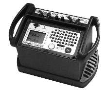 Portable Ohmmeter eliminates need for heavy equipment .