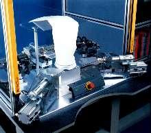 Ultrasonic Welder quickly assembles filter bags.