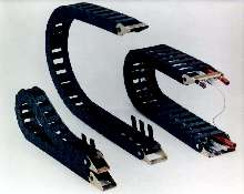 Cable/Hose Carriers come in 8 widths from 1 to 7 in.