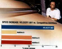 Adhesive Additive boosts corrugator speed.