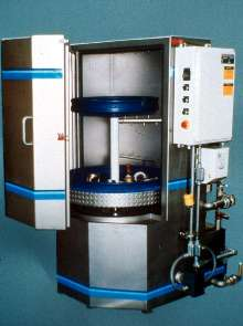 Rotary Parts Washer offers stainless steel construction.