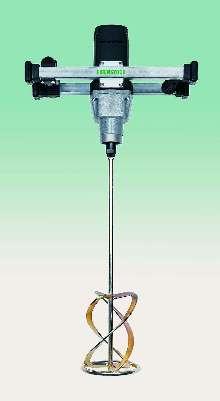 Variable Speed Mixer handles high viscosity materials.