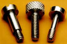 Screws are available in stainless steel.