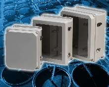 Fiberglass Enclosures suit corrosive environments.