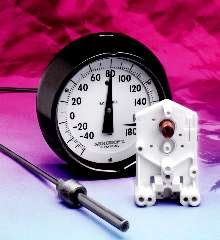 Thermometers range from -320 to 1200°F with ±1% accuracy.