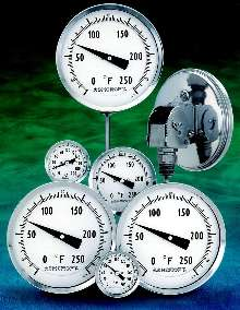 Bimetal Thermometers offer easy-to-read dials.