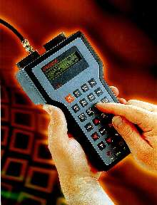 Handheld Calibrator meets line-test application requirements.