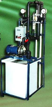 Filtration System recycles aqueous cleaners.