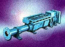 Progressing Cavity Pump handles caked materials.