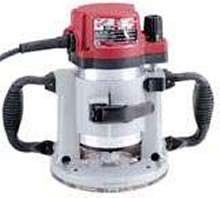 Fixed Base Router offers max horsepower of 3 ½ hp.