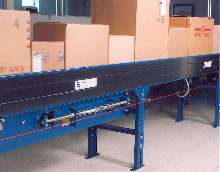 Belt-Driven Conveyor electronically senses products.