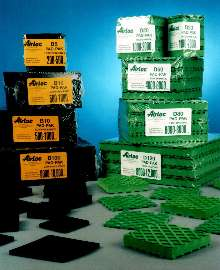 Vibration-Control Pads suit free-standing machines.