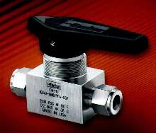 Miniature Ball Valve is pressure rated at 2500 psig CWP.