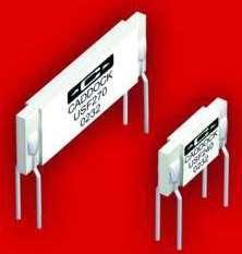 Film Resistors provide stable operating performance.
