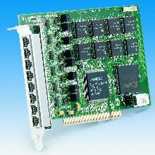 PCI Card combines high speed with convenient wiring.