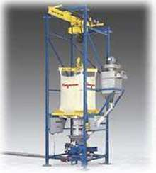 Bulk Bag Dischargers work in-line with pneumatic conveyors.