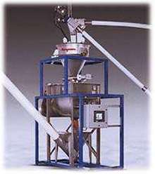 Batching/Blending System integrates with conveyors.