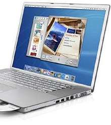 Notebook Computer supports 802.11g wireless networking.