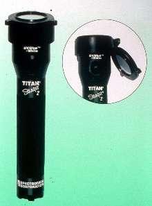 Flashlight provides HVAC leak detection.