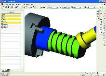 CAM Software combines mill-turn and turning-cutting cycles.