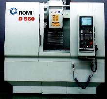 Vertical Machining Center has 33 x 14 in. work surface.