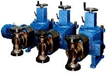 Metering Pumps facilitate gas-to-liquid conversions.