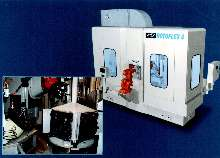 Rotary Transfer Machine features 4-station design.