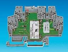 Terminal Blocks offer wide range of voltages.