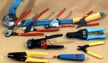 Installation Tools suit wire and cable modifications.