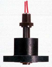 Level Switch detects liquid level in shallow tanks.