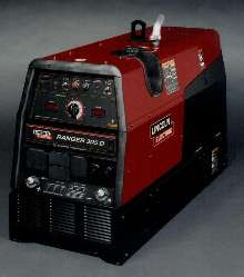 Welding Generator has fuel tank that lasts all day.