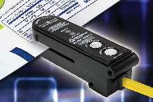 Sensor detects marks on transparent or translucent webs.