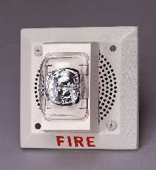 Fire-Alarm Speaker cuts power use in half.