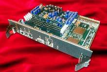 CompactPCI Board uses 4-port switched fabric.