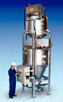 Pneumatic Conveyor provides accurate, continuous operation.