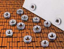 Self-Clinching Nuts suit thin-sheet applications.