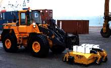 Sweeper Attachments offer capacities up to 1 cubic yard.