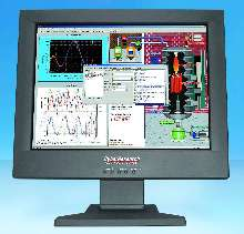 Flat-Panel Monitor suits industrial and laboratory use.