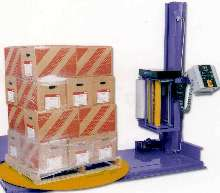 Stretch Wrappers are available as semi-automatic or manual.