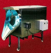 Tumbling Machines use light to decontaminate food.