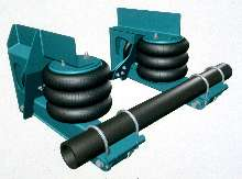Non-Steer Suspension suits pusher and tag positions.