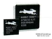 Microprocessor comes in small TFBGA package.