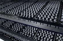 Roller Conveyors consist of easily mounted lanes/tracks.