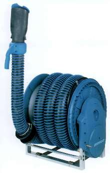 Hose Reel suits fleet maintenance facilities.