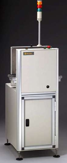 Bare Board Destacker provides no-vacuum handling.