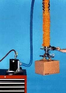 Vacuum Tube Lifter is powered by compressed air.